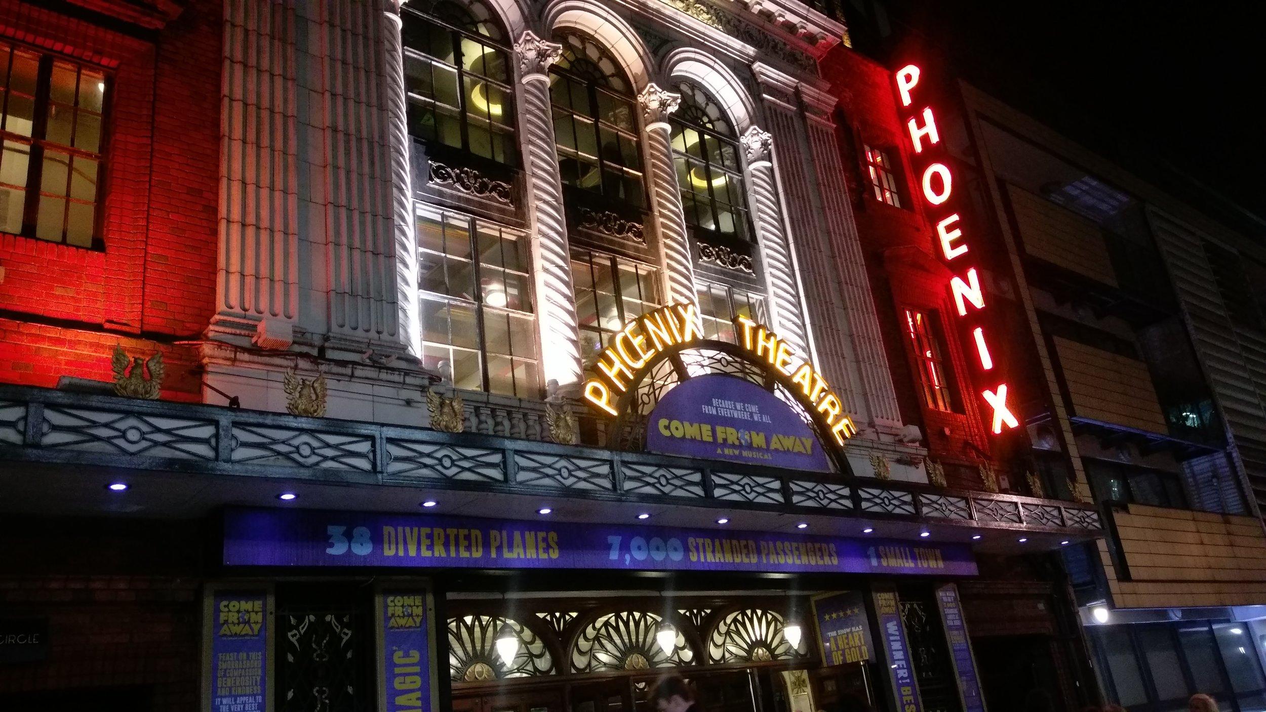 Phoenix Theatre - visited 21/02/2019