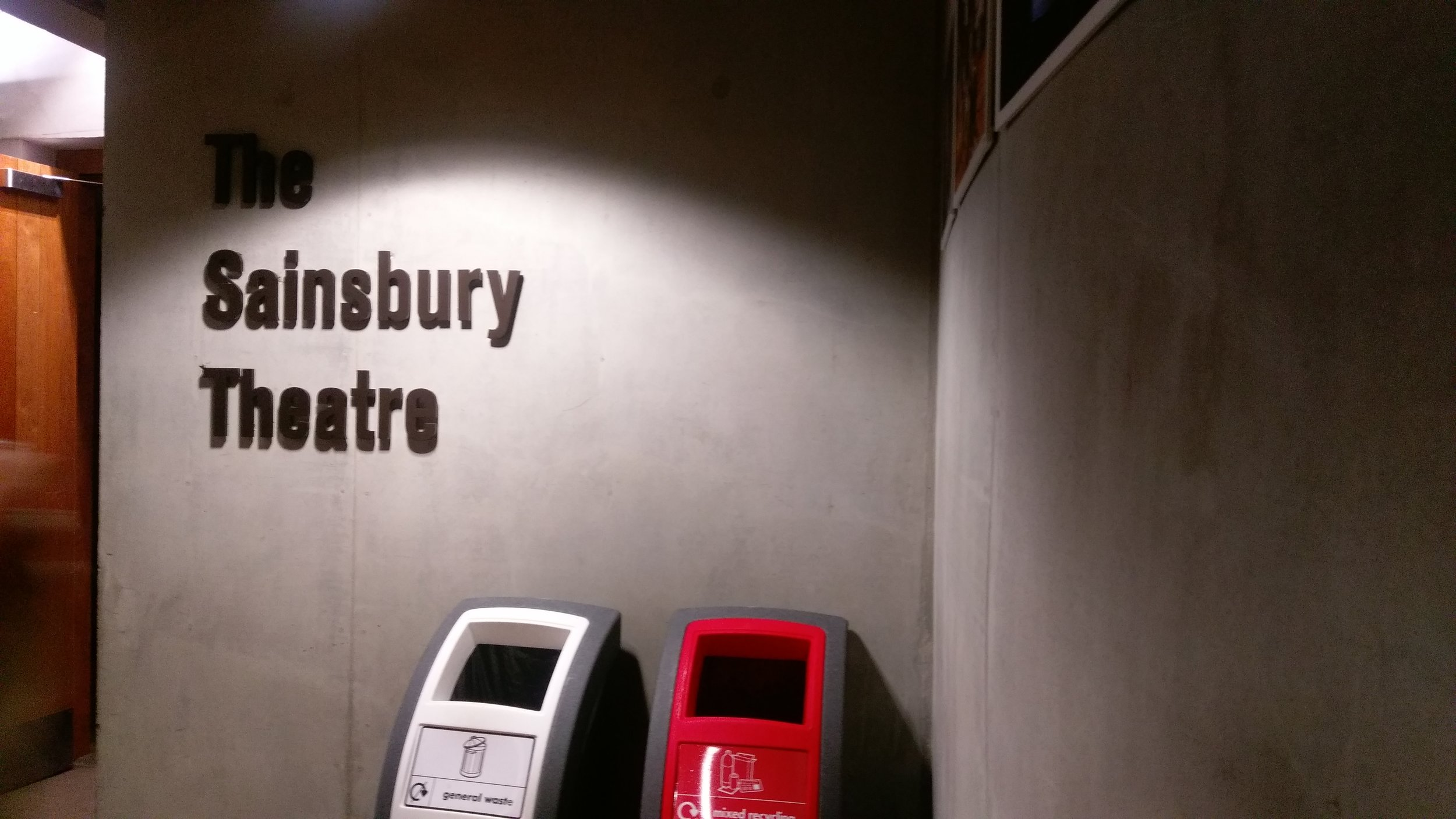 LAMDA(THe Sainsbury Theatre) - visited 20/02/2019