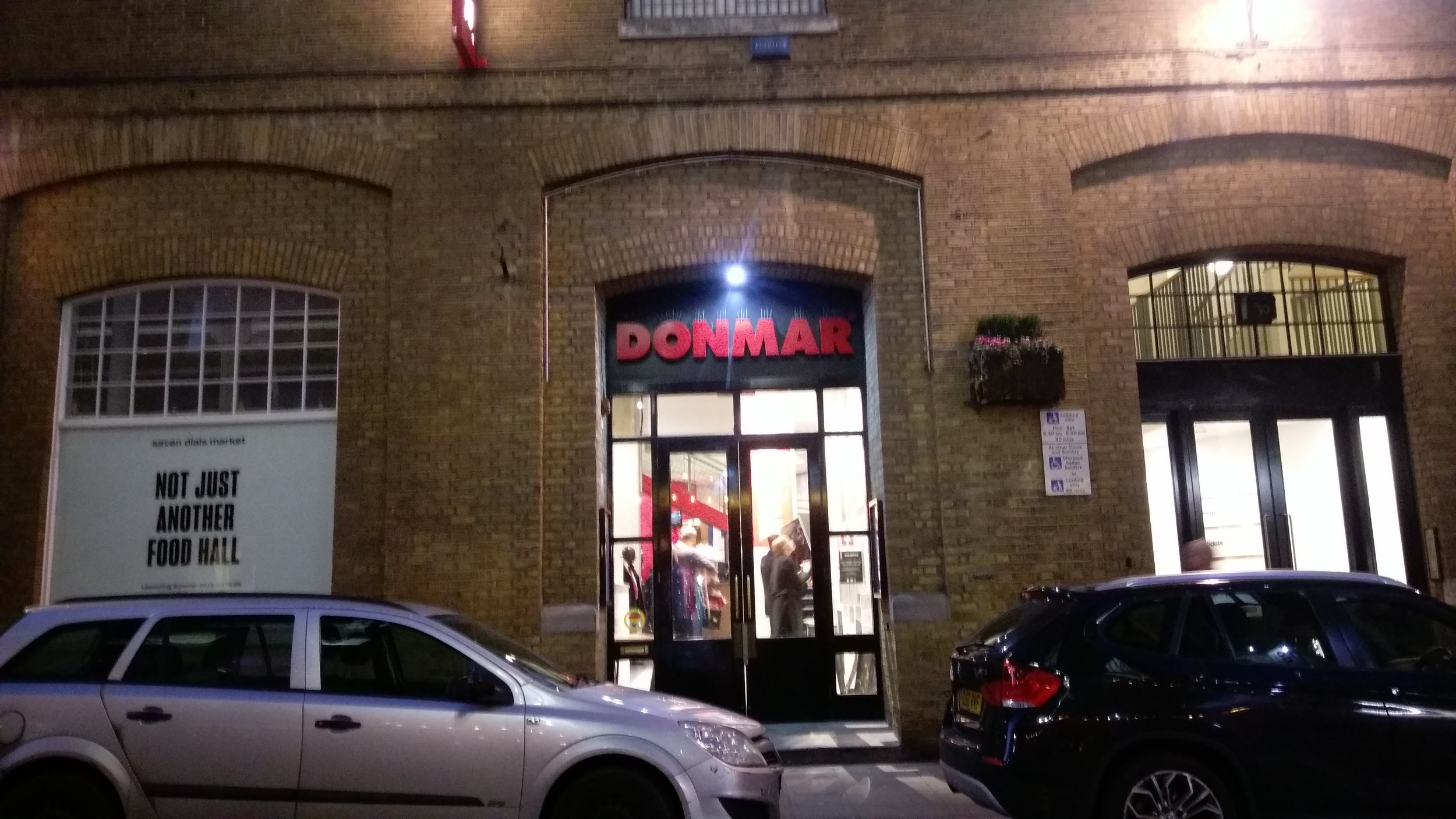 Donmar Warehouse - visited 14/02/2019