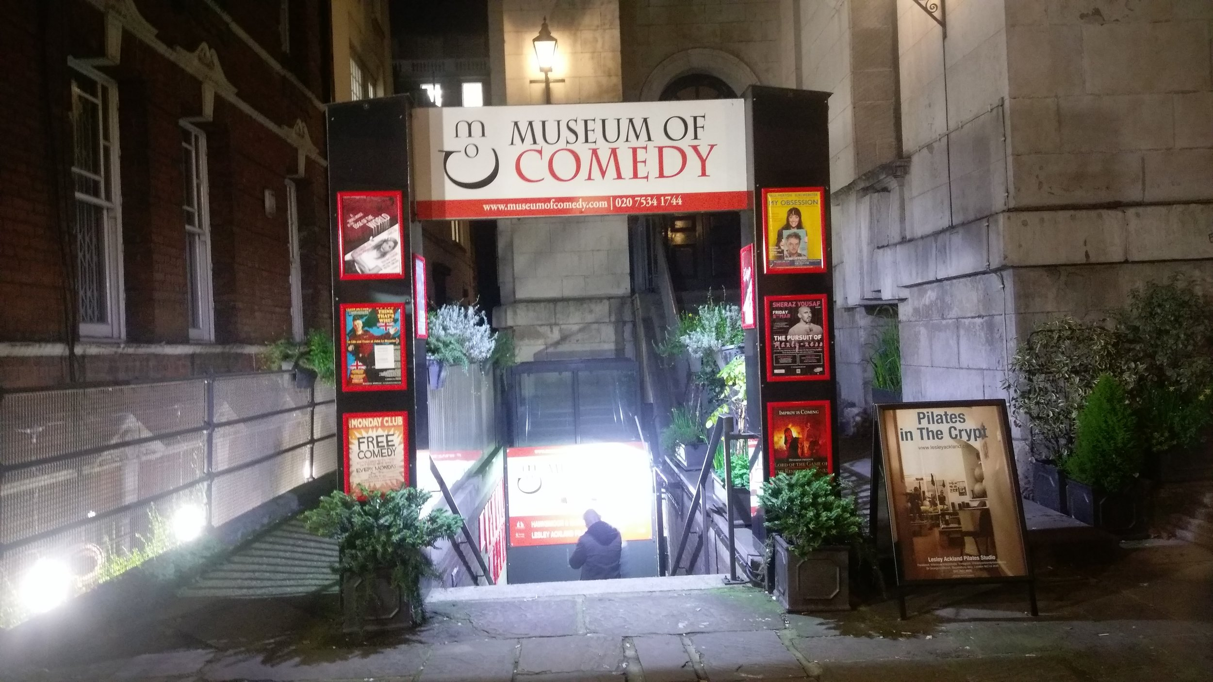 Museum of Comedy - visited 23/02/2019