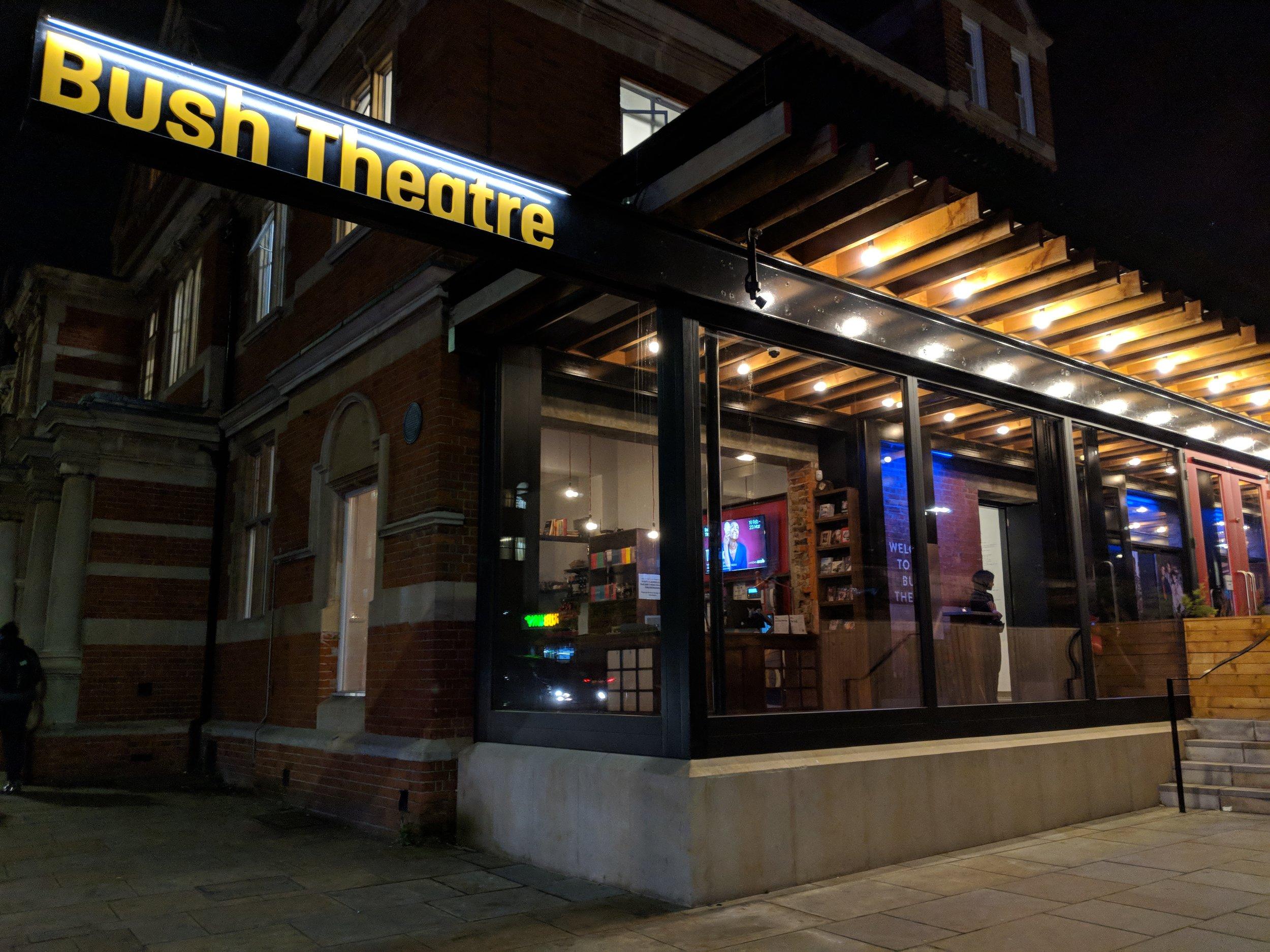 Bush Theatre (Studio) - visited 04/03/2019