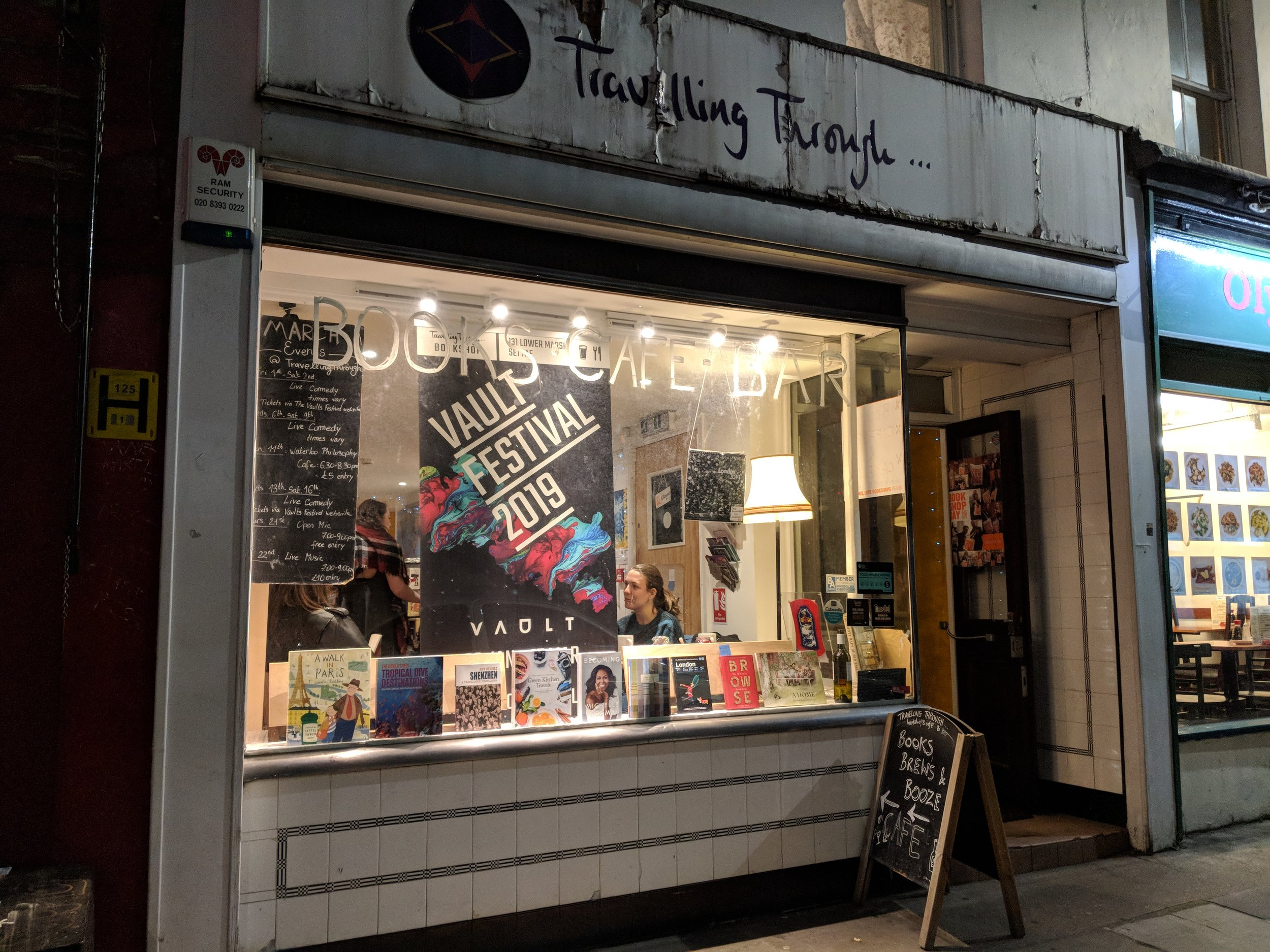 Travelling Through… Bookshop - Visited 09/03/2019