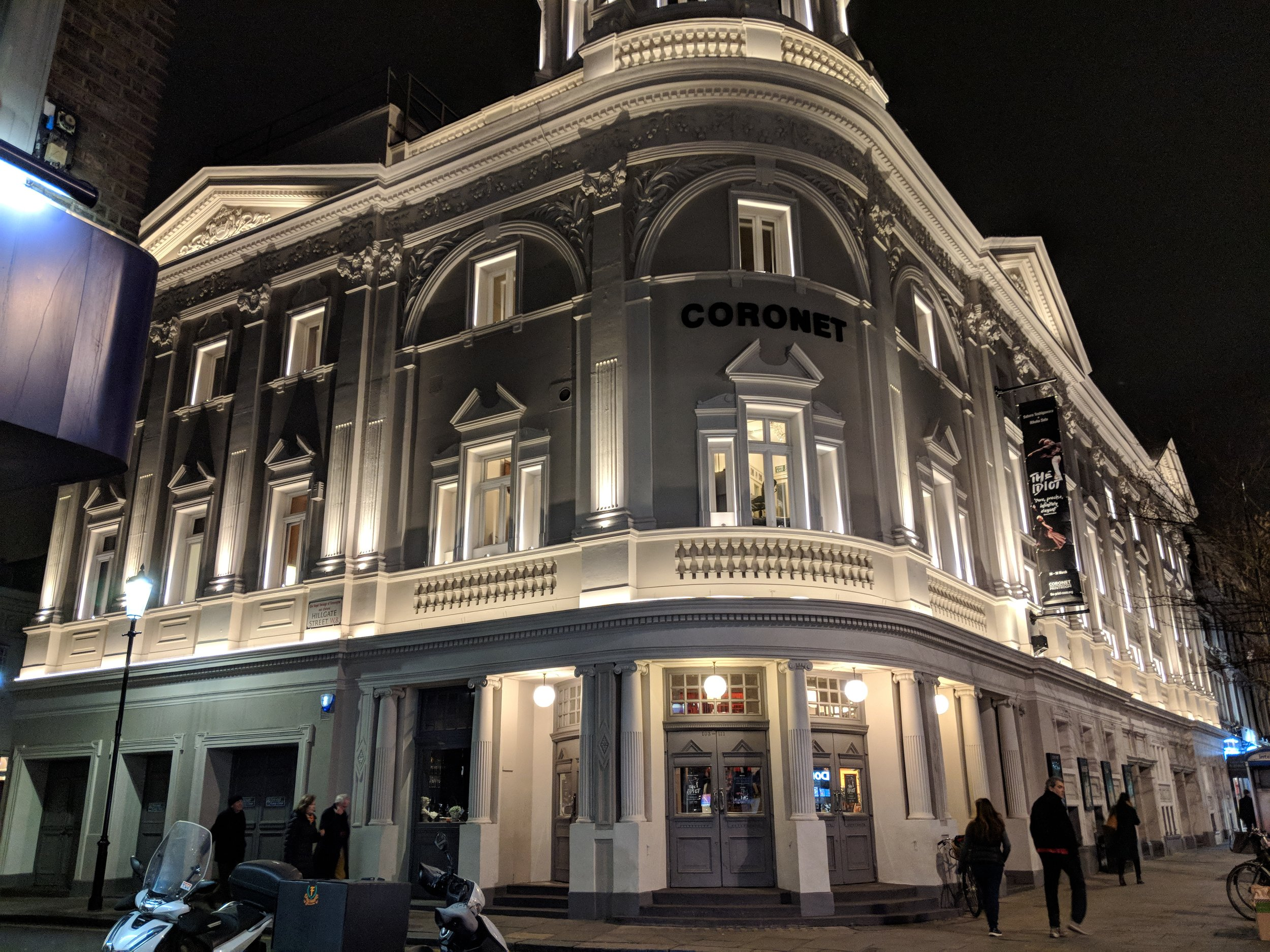Print Room at The Coronet - visited 20/03/2019