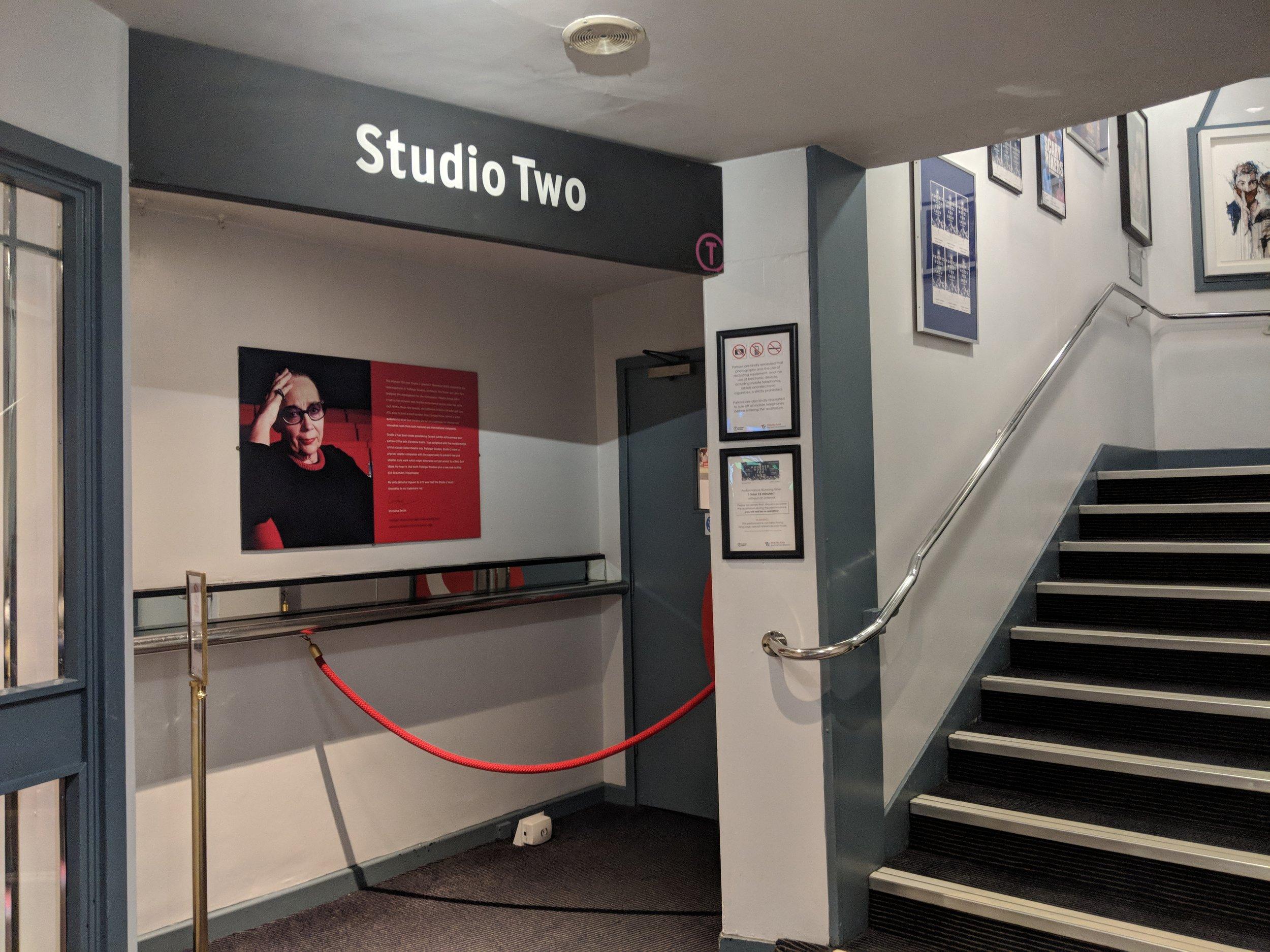 Trafalgar Studio Two - visited 28/03/2019