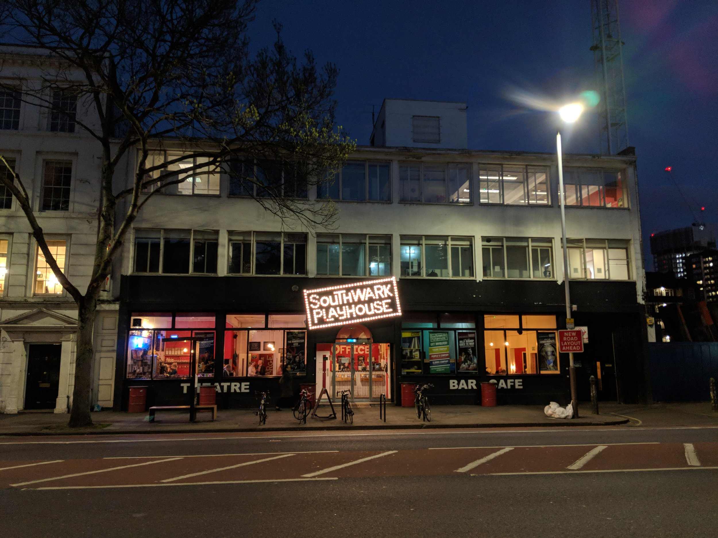 Southwark Playhouse(The Large) - visited 26/03/2019
