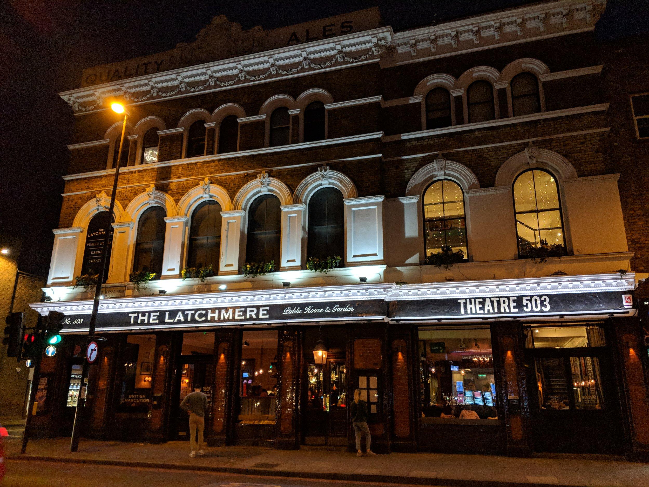 Theatre503 - visited 30/03/2019