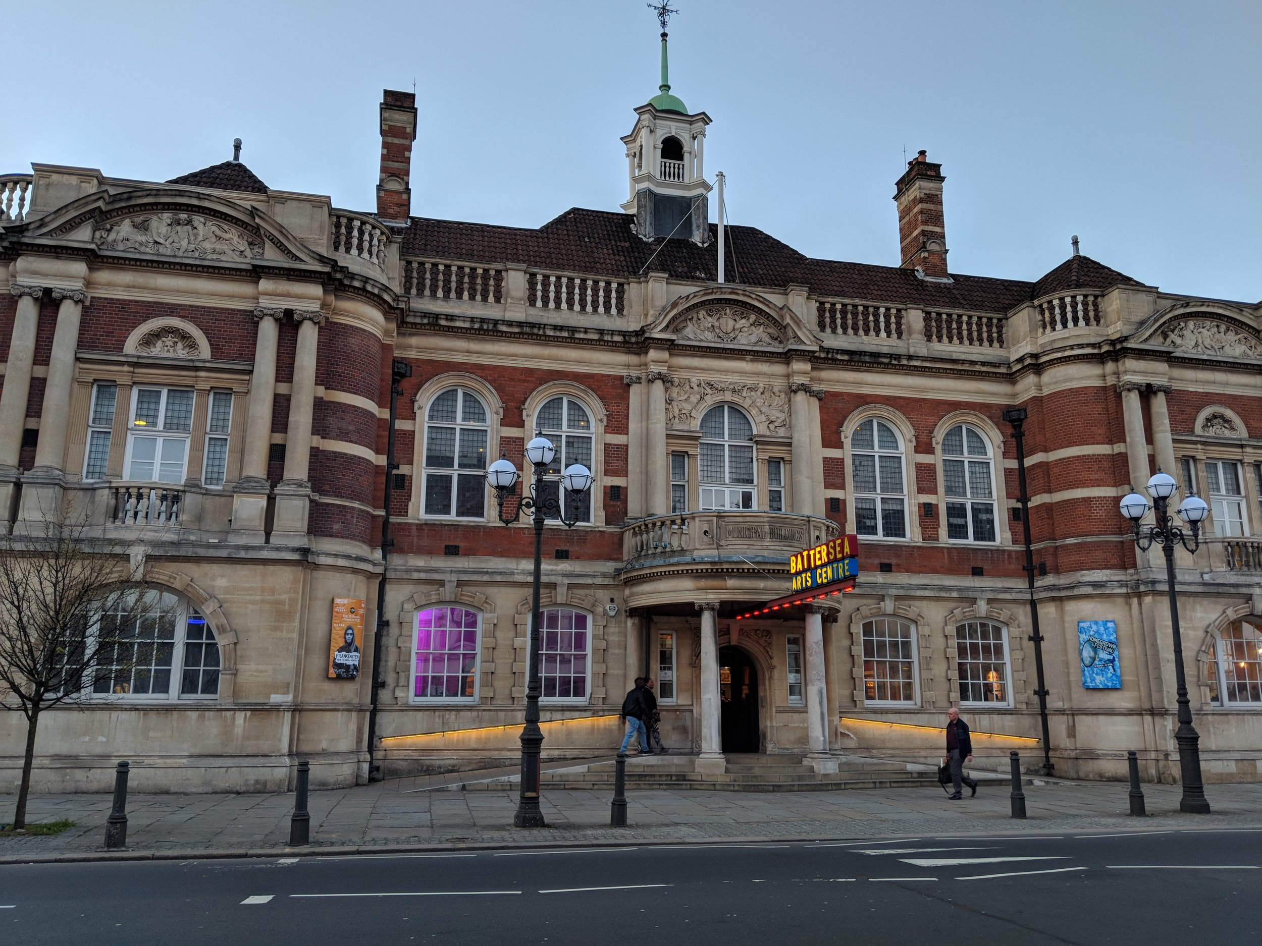 Battersea Arts Centre(Grand Hall) - visited 29/03/2019