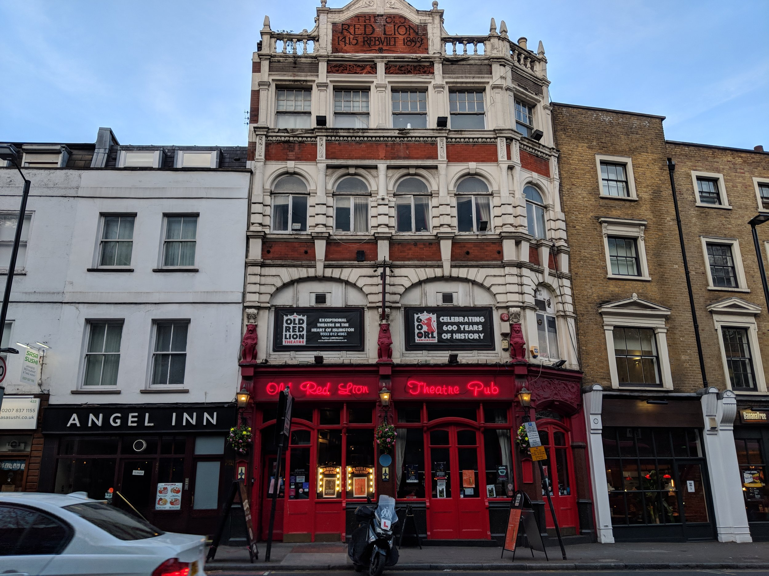Old Red Lion Theatre - visited 15/04/2019