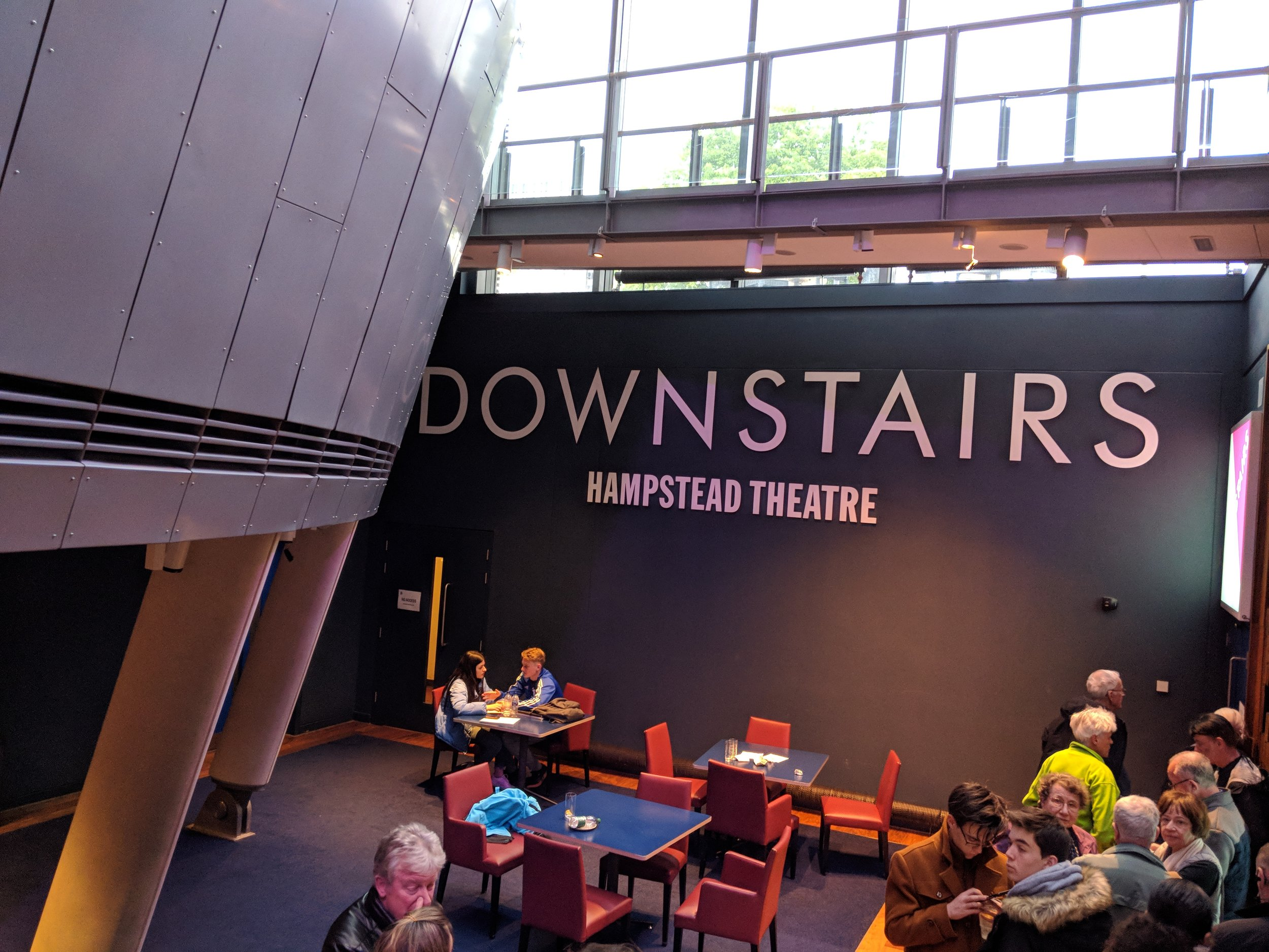 Hampstead Theatre(Downstairs) - visited 06/05/2019