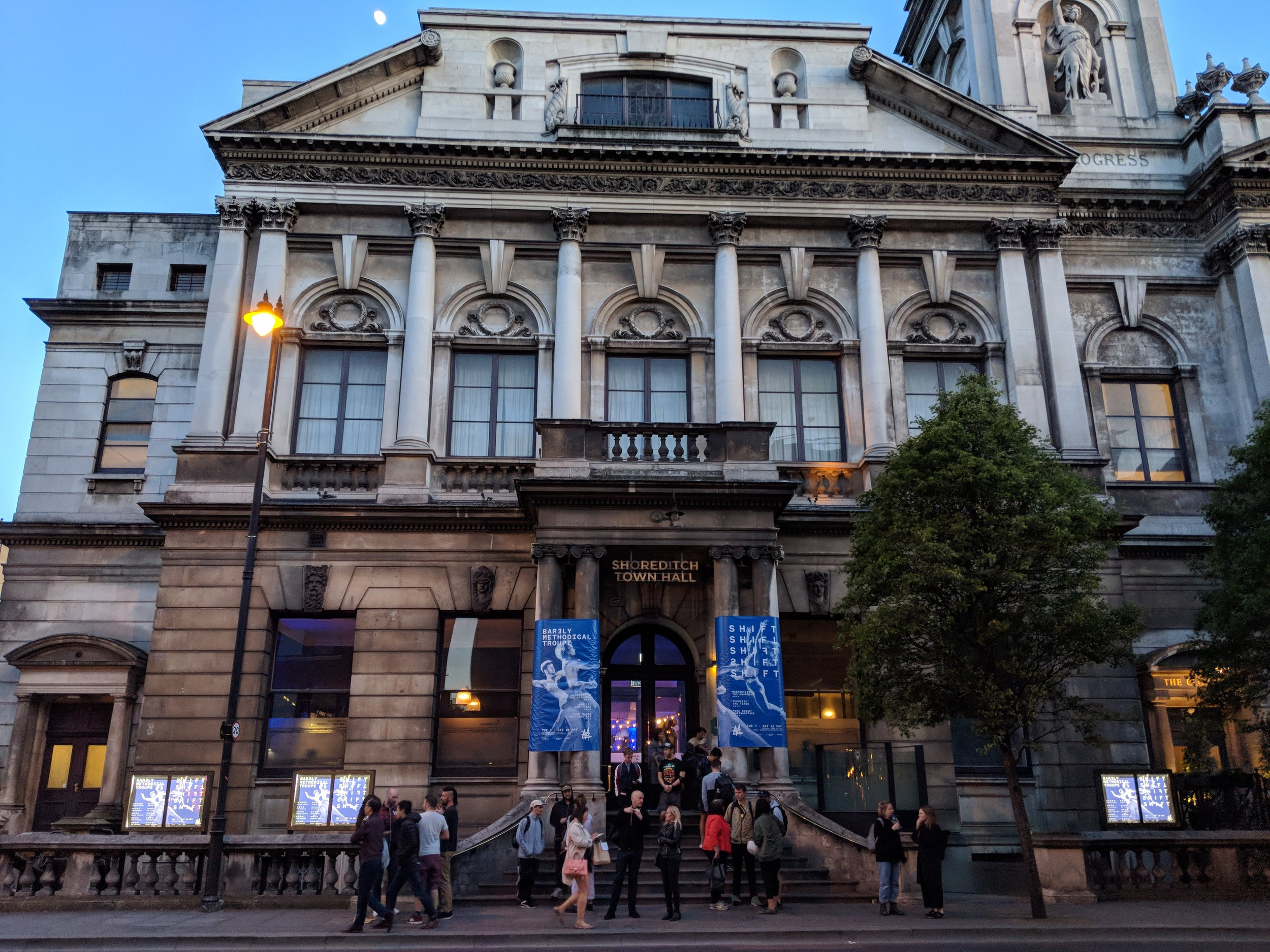 Shoreditch Town Hall - visited 14/05/2019