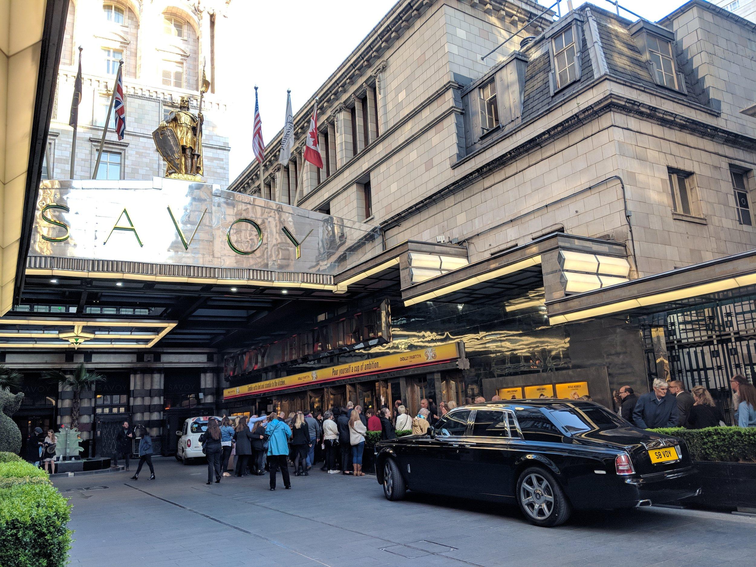 Savoy Theatre - visited 10/05/2019