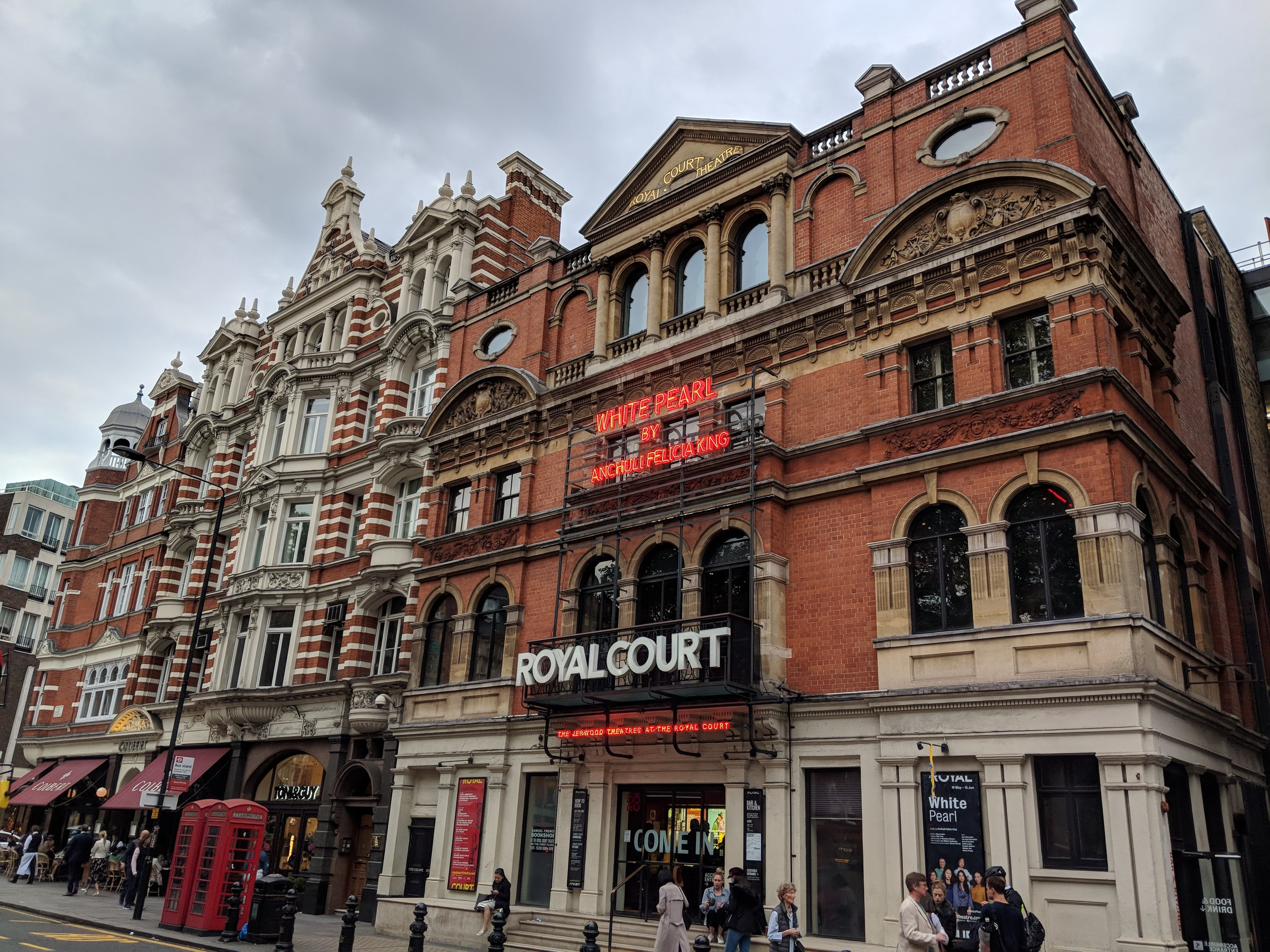 Royal Court Theatre(Upstairs) - visited 20/05/2019