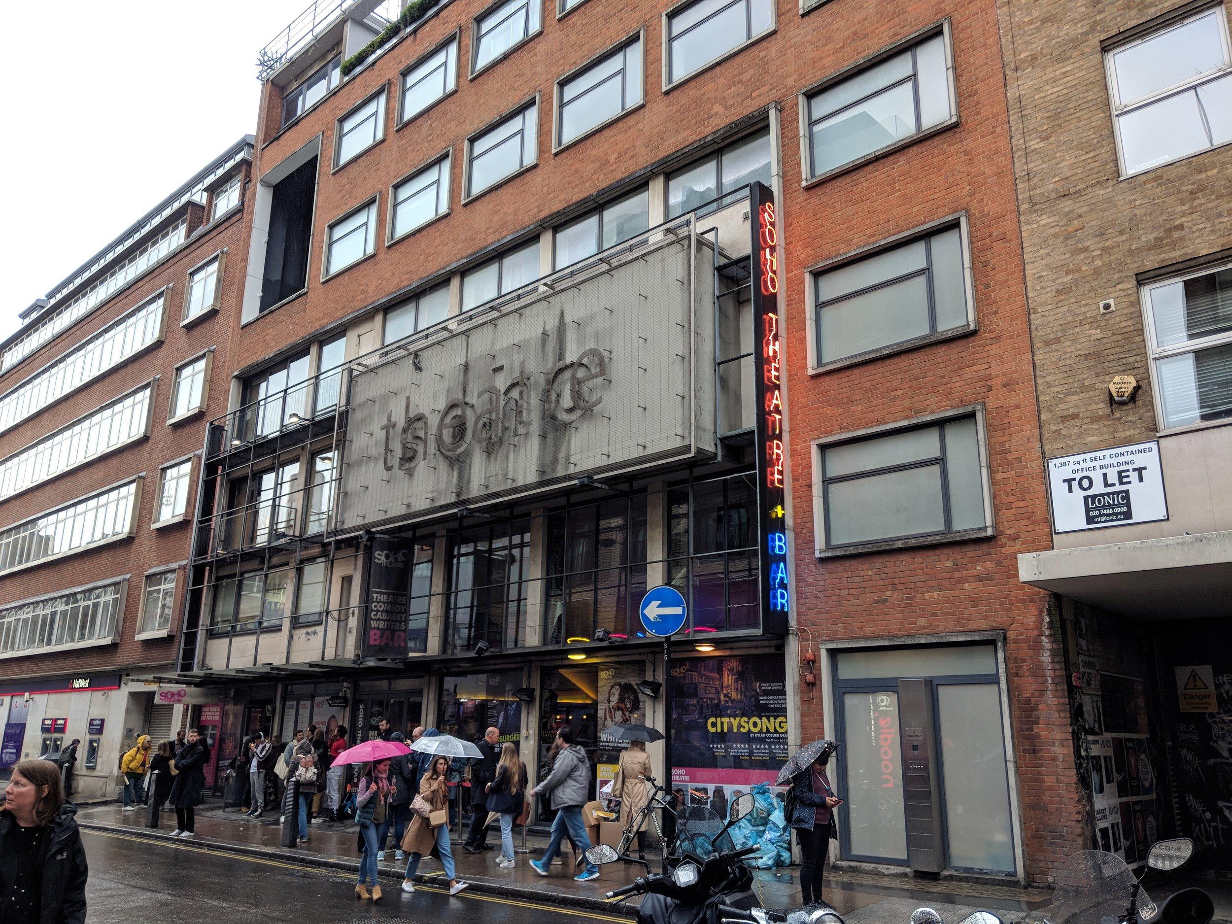 Soho Theatre(Soho Theatre) - visited 12/06/2019