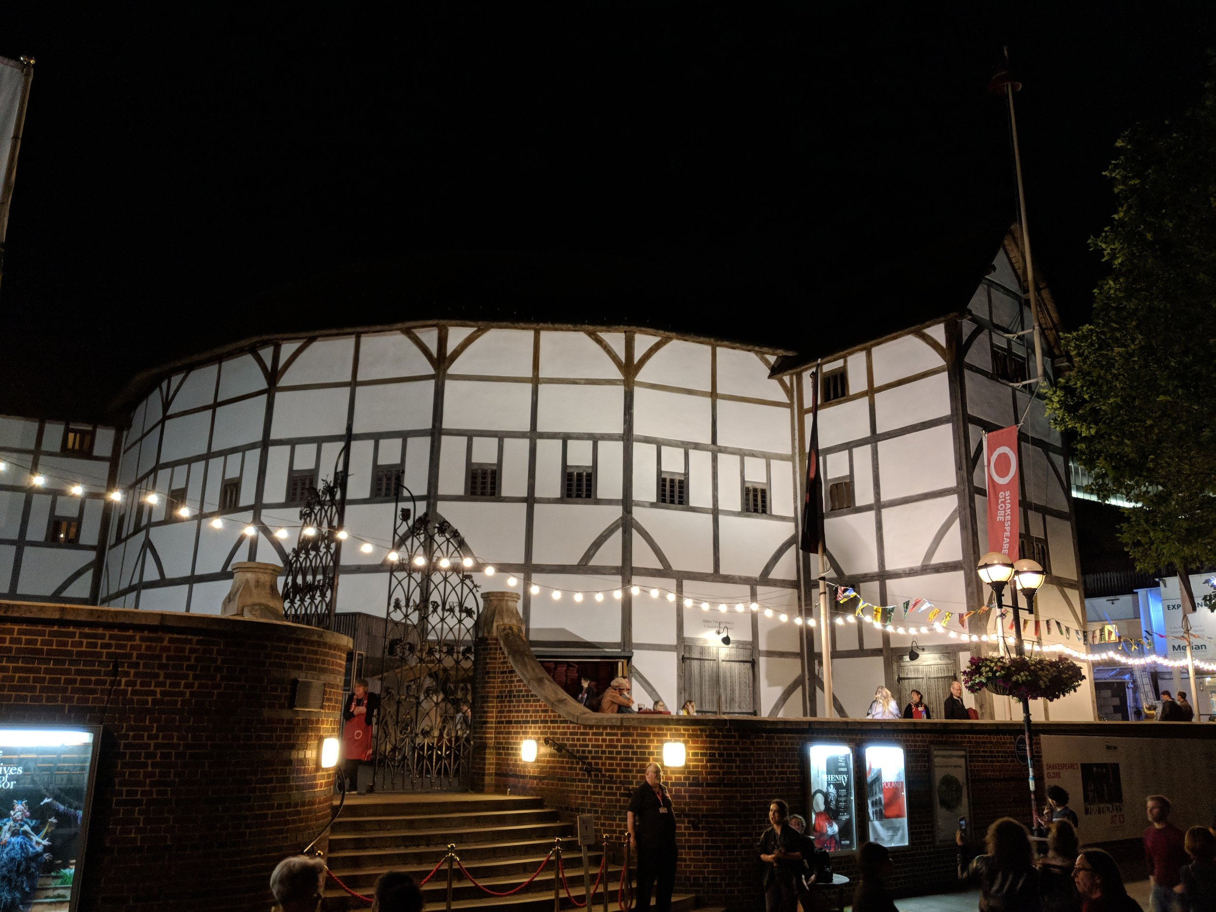 Shakespeare's Globe Theatre - visited 21/06/2019
