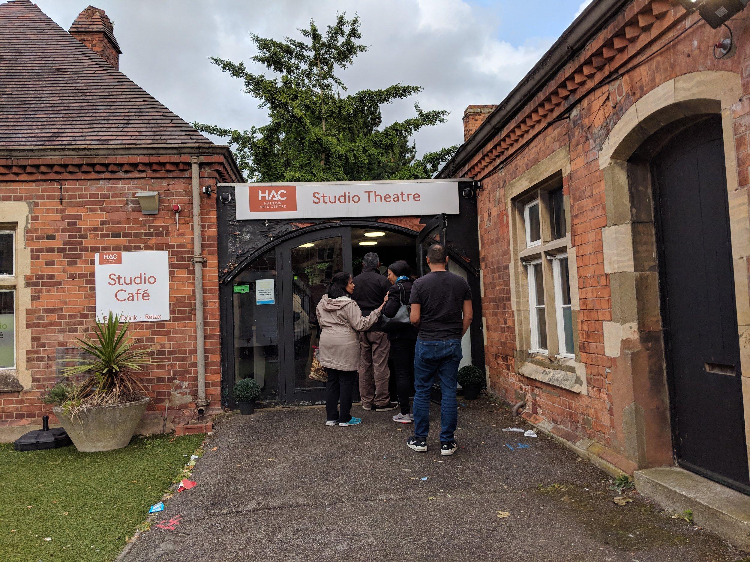 Harrow Arts Centre(Studio Theatre) - visited 15/06/2019