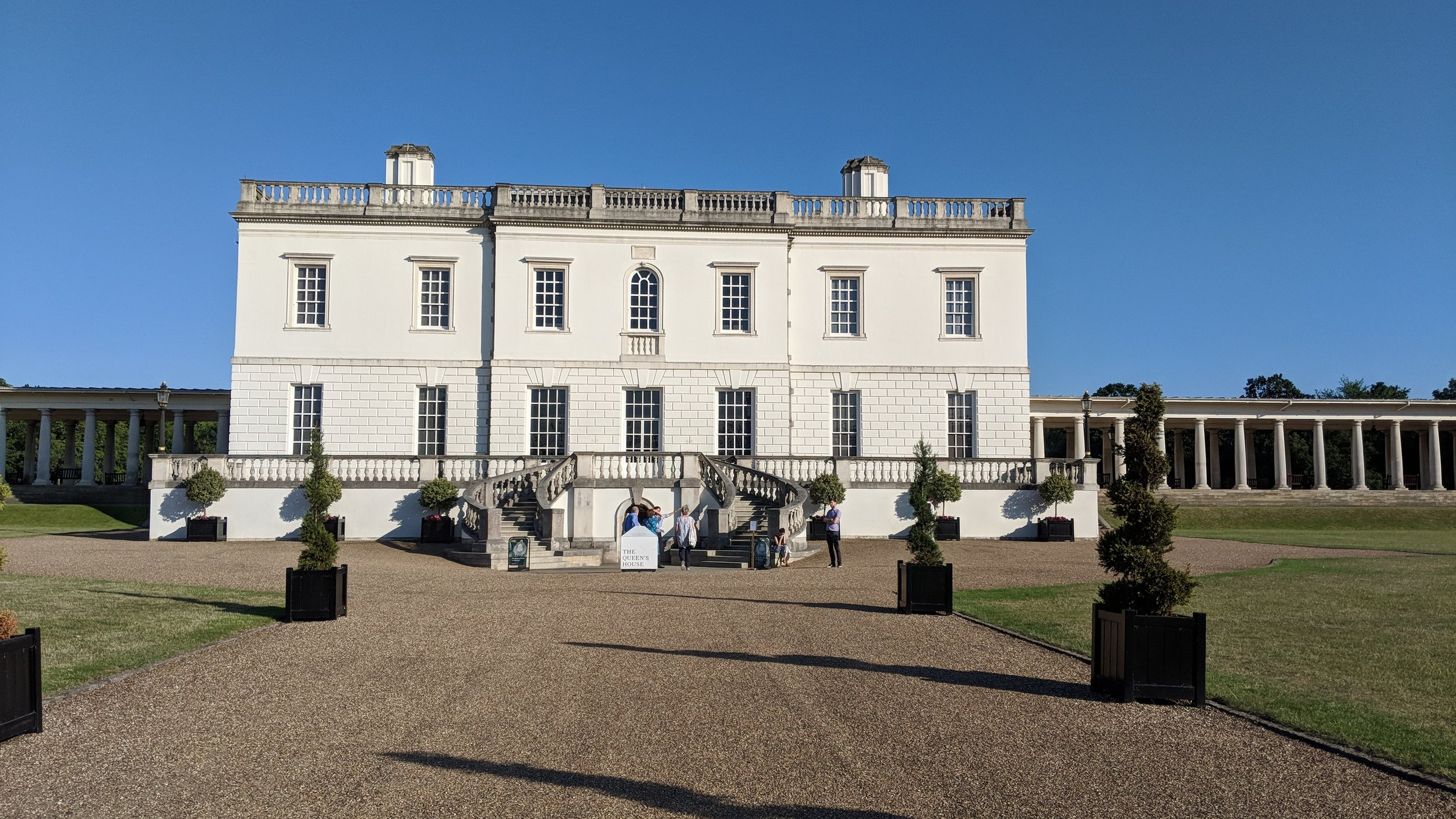 Queen's House, Greenwich - visited 03/07/2019