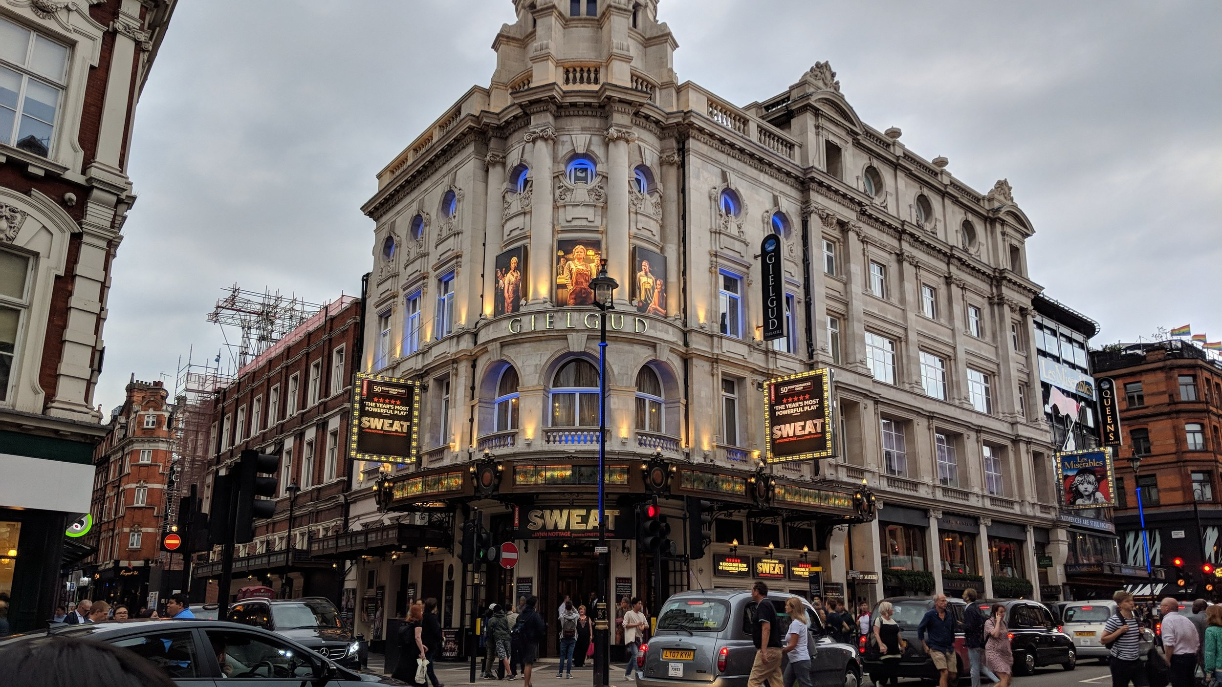 Gielgud Theatre - visited 08/07/2019