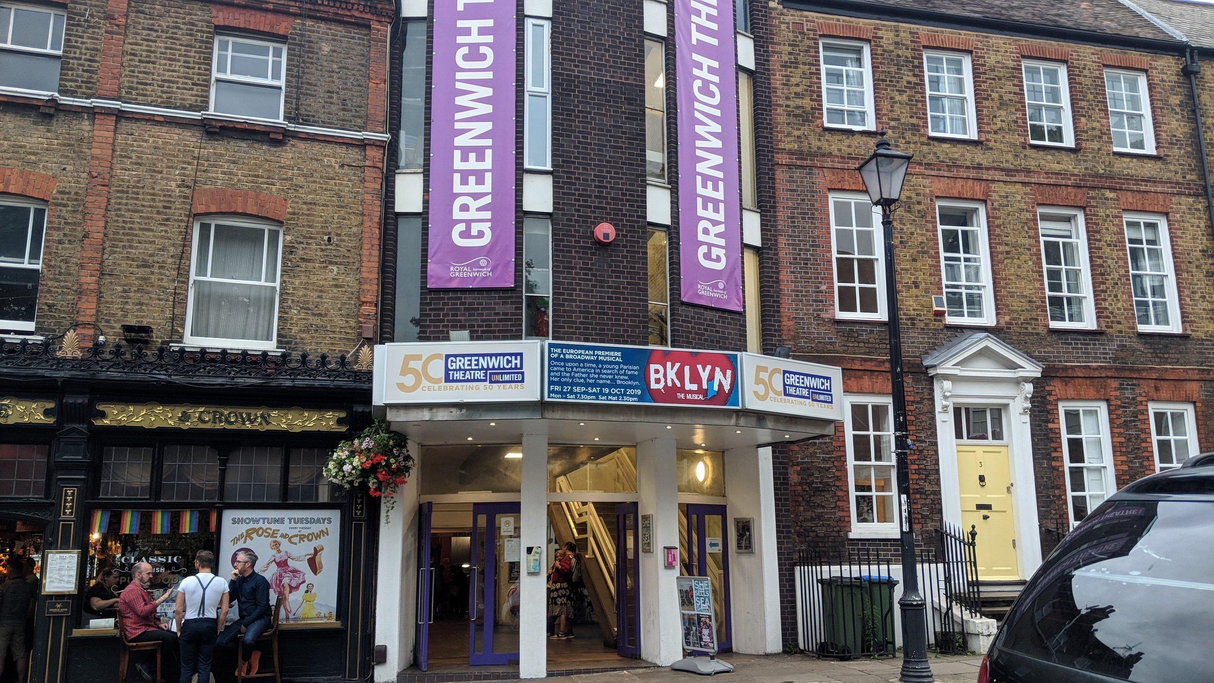 Greenwich Theatre(Studio) - Visited 27/07/2019