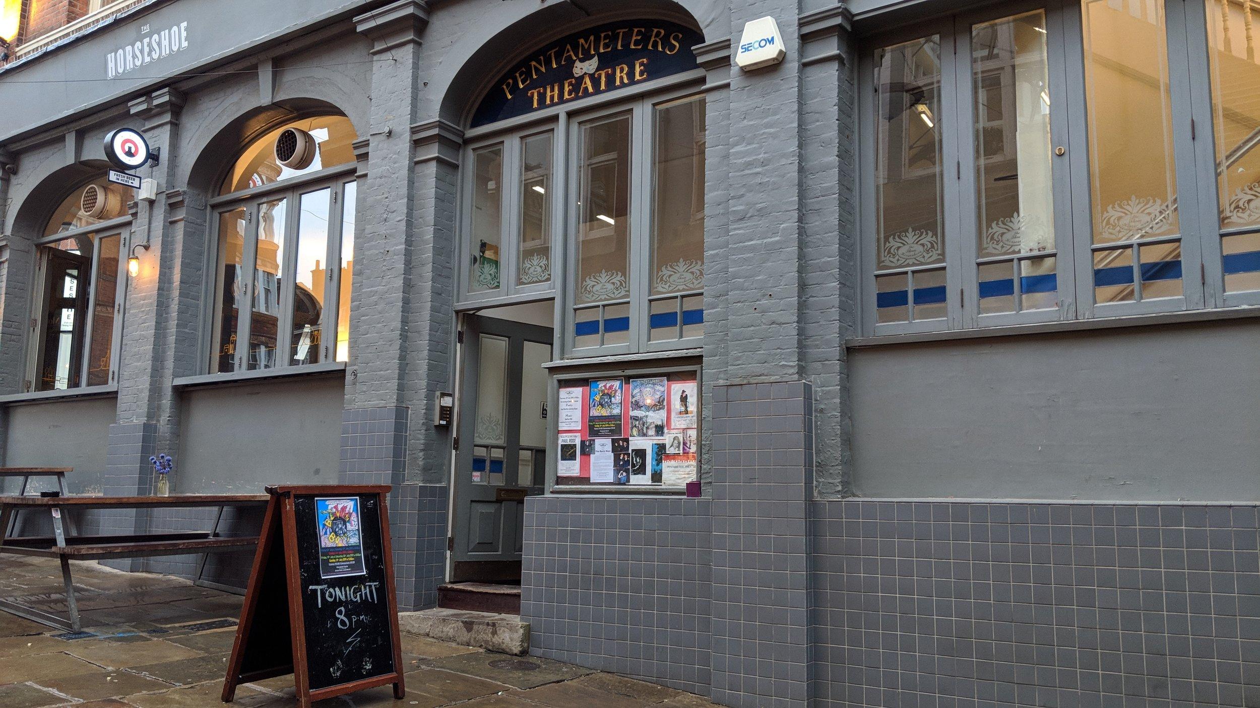 Pentameters Theatre - visited 19/07/2019