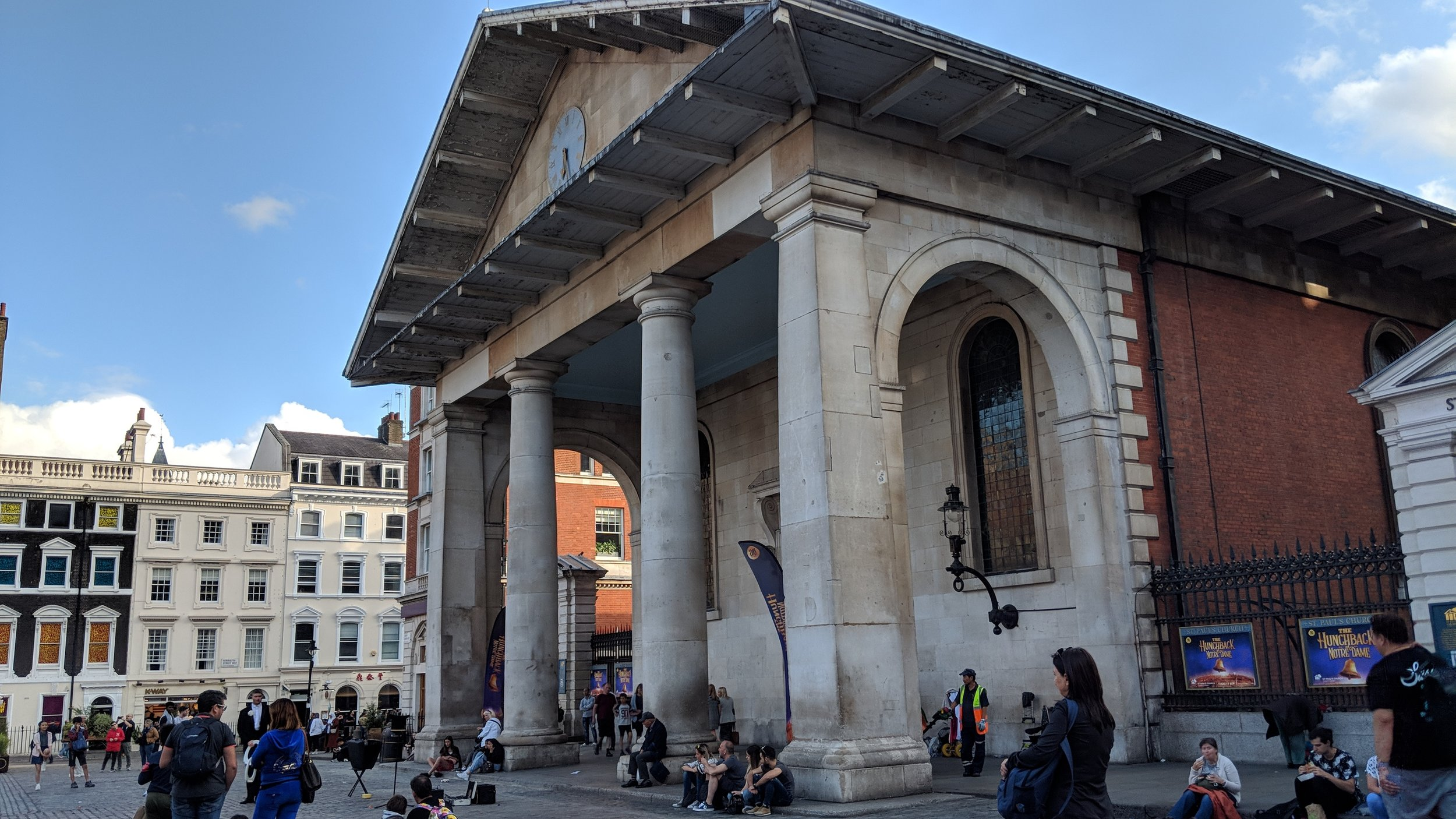 Iris Theatre, St Paul's Church - visited 06/08/2019