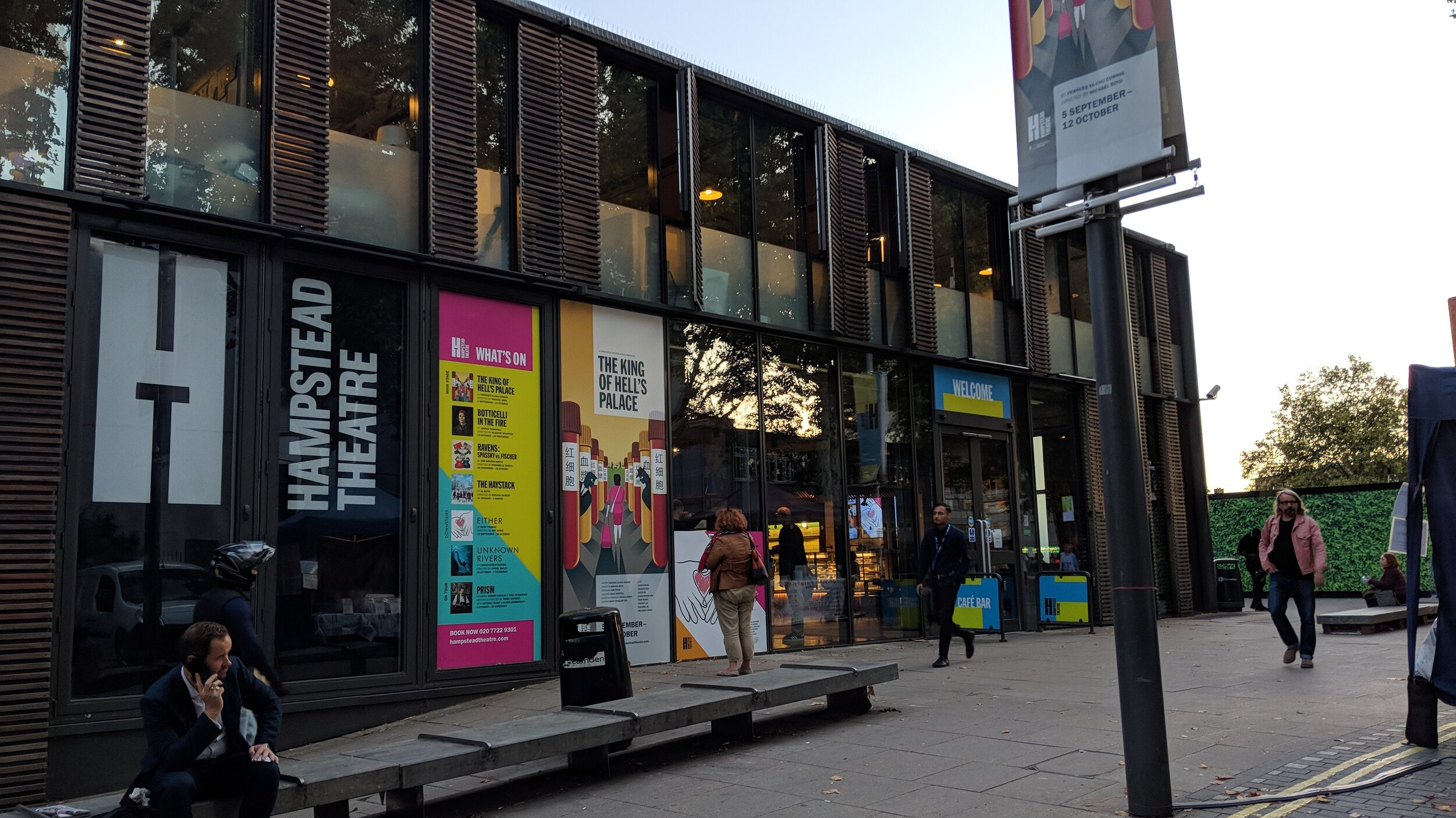Hampstead Theatre(Upstairs) - visited 19/09/2019