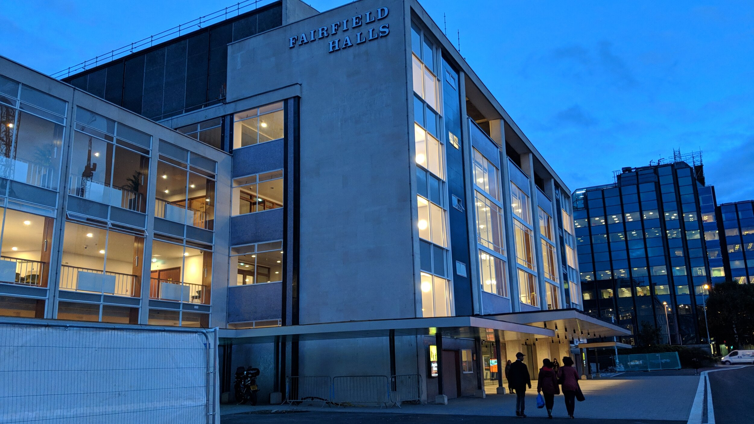 Fairfield Halls(Ashcroft Theatre) - visited 25/09/2019