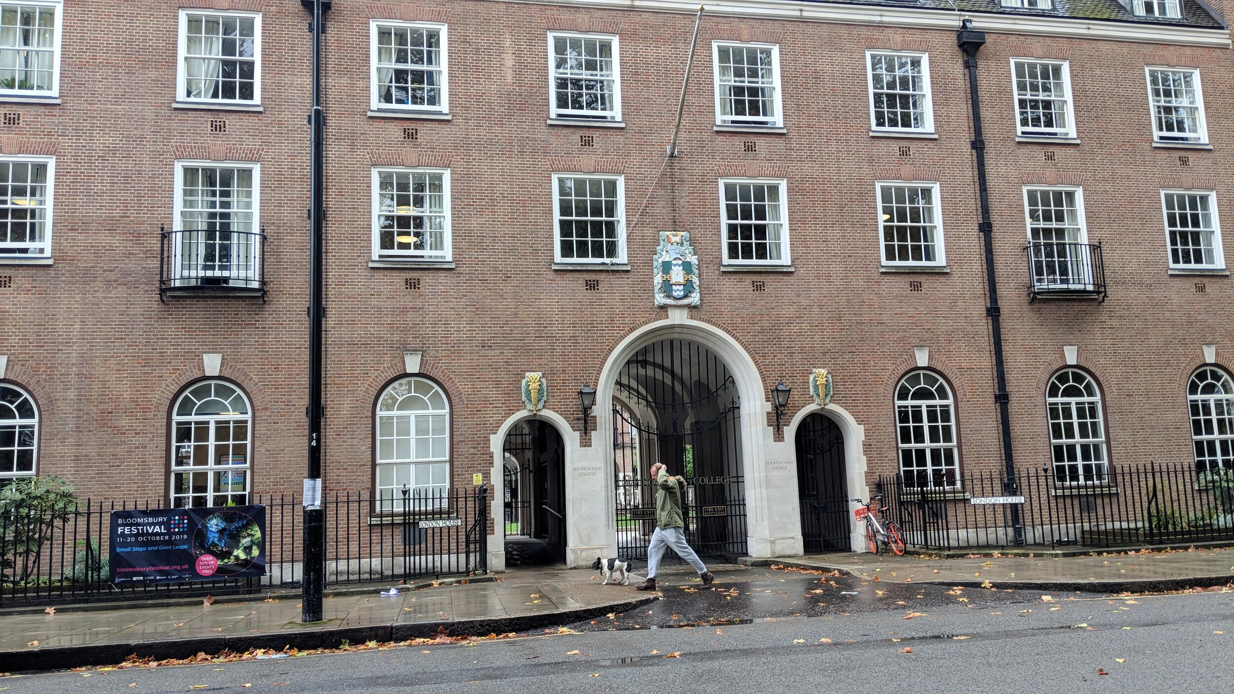 Goodenough college - visited 13/10/2019