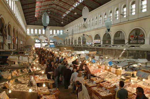 Athens Central Food Market