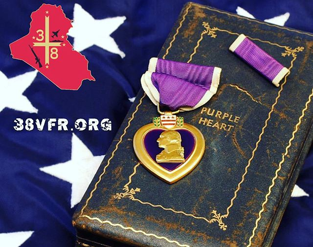 Today is #NationalPurpleHeartDay and we would like to honor all of our servicemen who were either killed or wounded, fighting for our country. We salute you! #usmc #purpleheart #wia #kia #warriors #brothers #infantry #grunts #marines