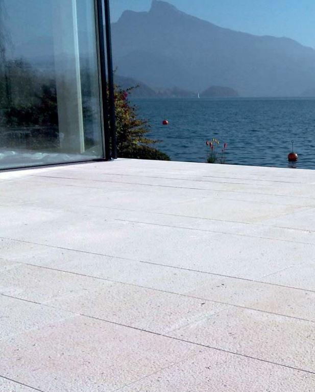 Perlenkalkstein Sandstein Naturstein Platten Format qualität .JPG