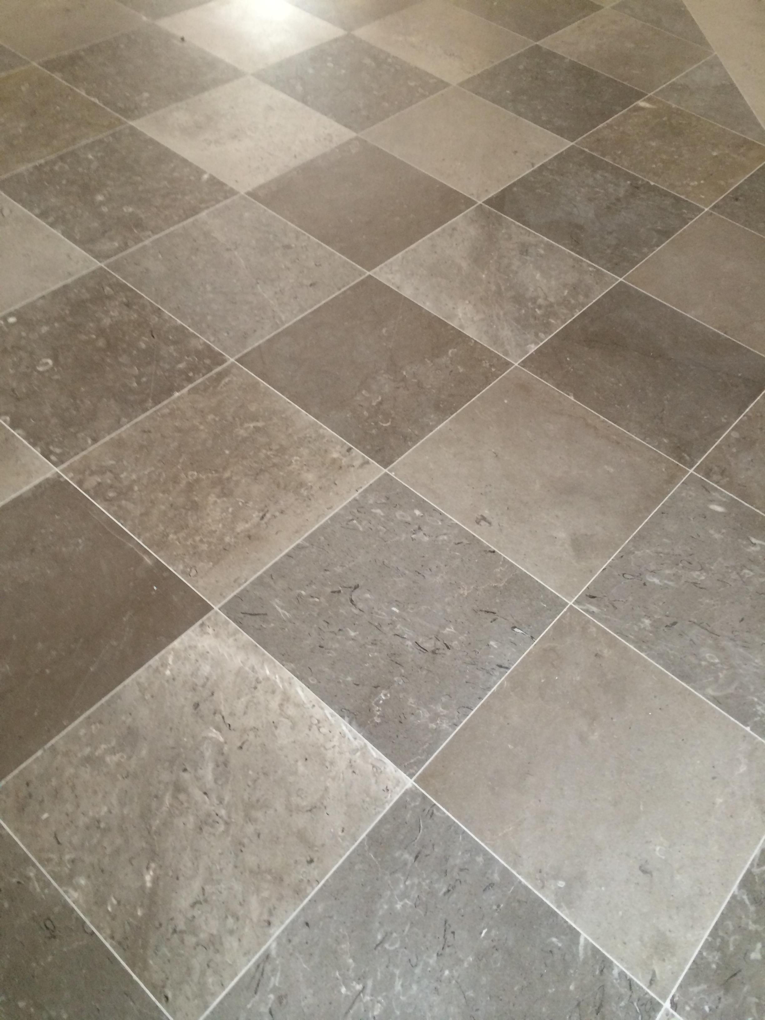 Aurisina Muschelkalkstein aus triest diagonale verlegung von natursteinplatten. .JPG