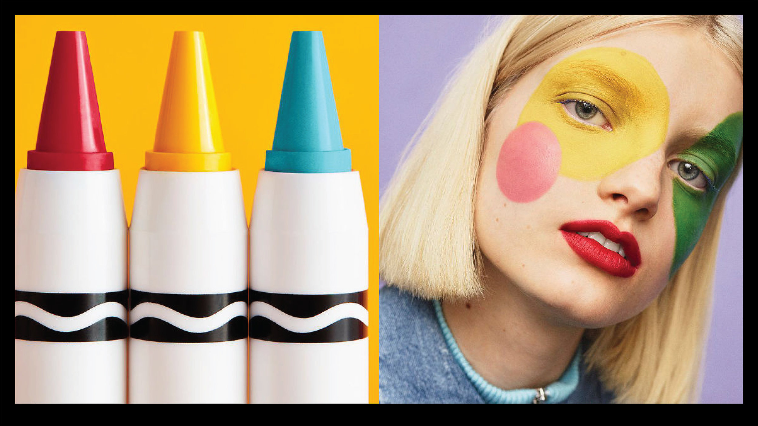 CRAYOLA BEAUTY MAKEUP COLLECTION