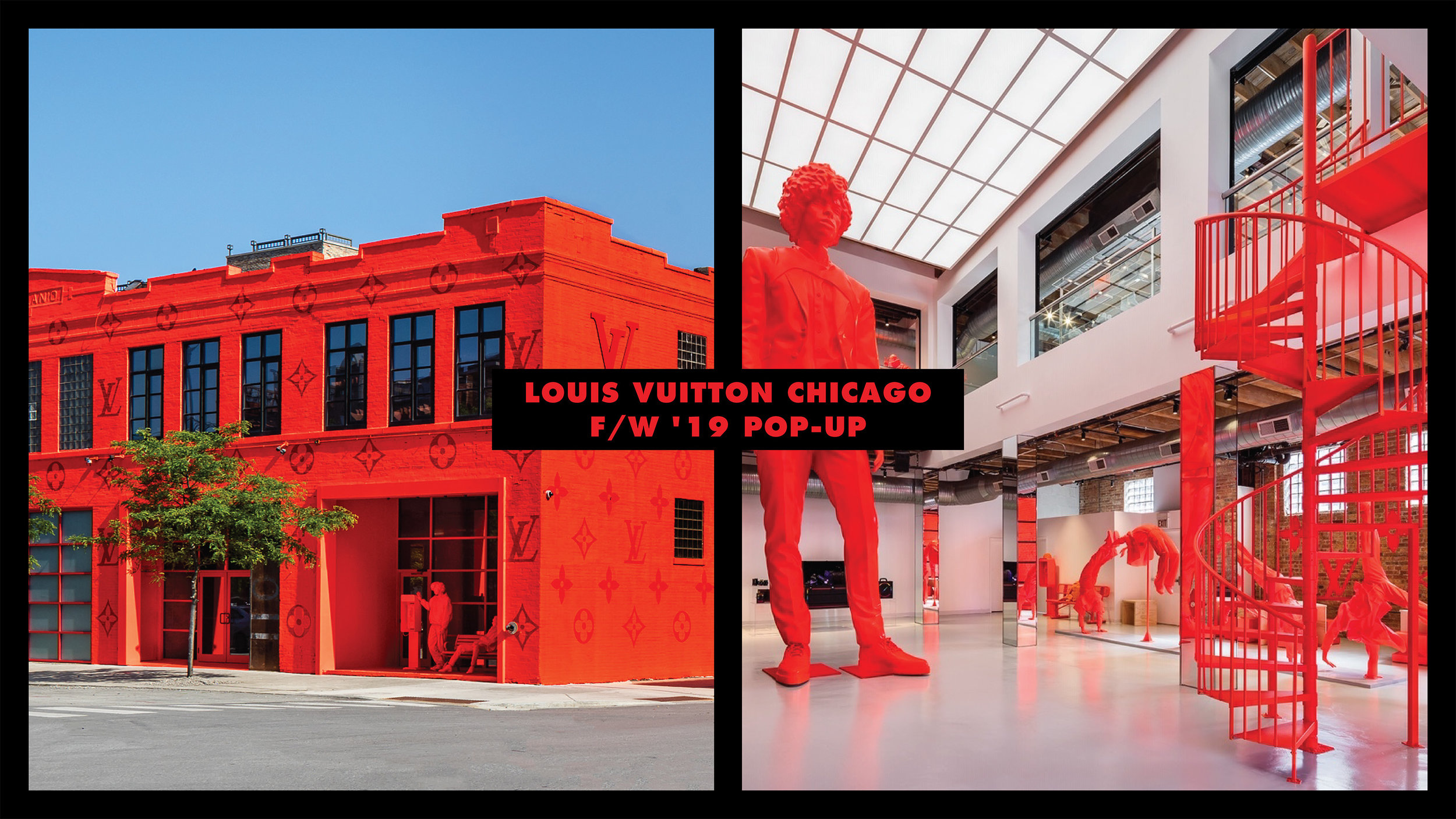 LOUIS VUITTON CHI POP-UP - FALL / WINTER 19 MENSWEAR COLLECTION