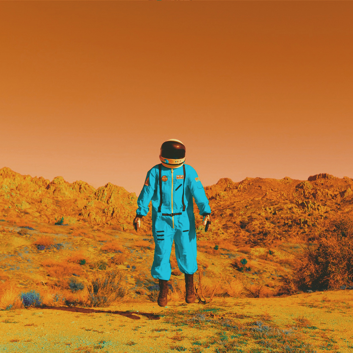 2100 : Life On Mars - A mock photo essay on the first human to live on Mars.