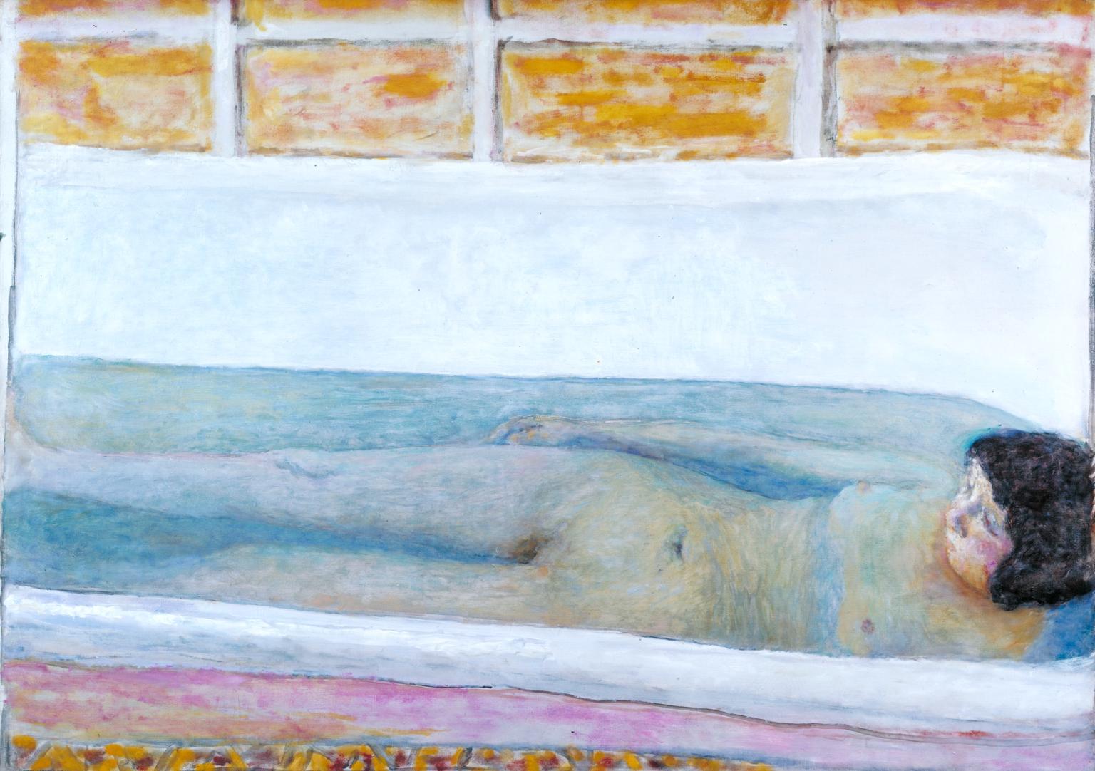 Bonnard, In the bath, 1925.