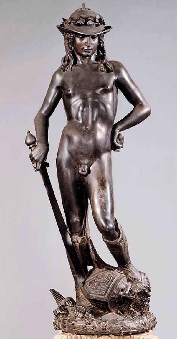 Donatello, David, 1440s