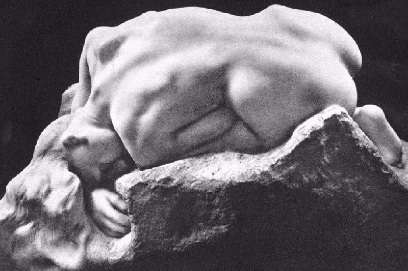 Rodin, Danaid, 1889
