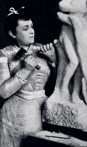 Camille Claudel, Vertumnus and Pomona / L'Abandon, 1886