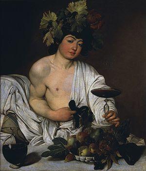 Caravaggio, Bacchus, 1595.