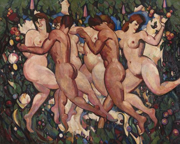 J.D. Fergusson, Les Eus, 1911-13