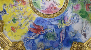 Chagall, Ceiling of the Paris Opera House, 1964