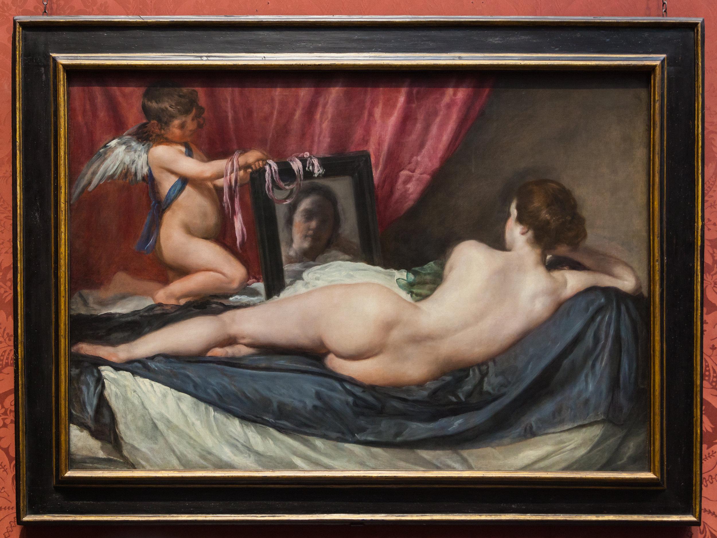 Velazquez, The Rokeby Venus, 1651.