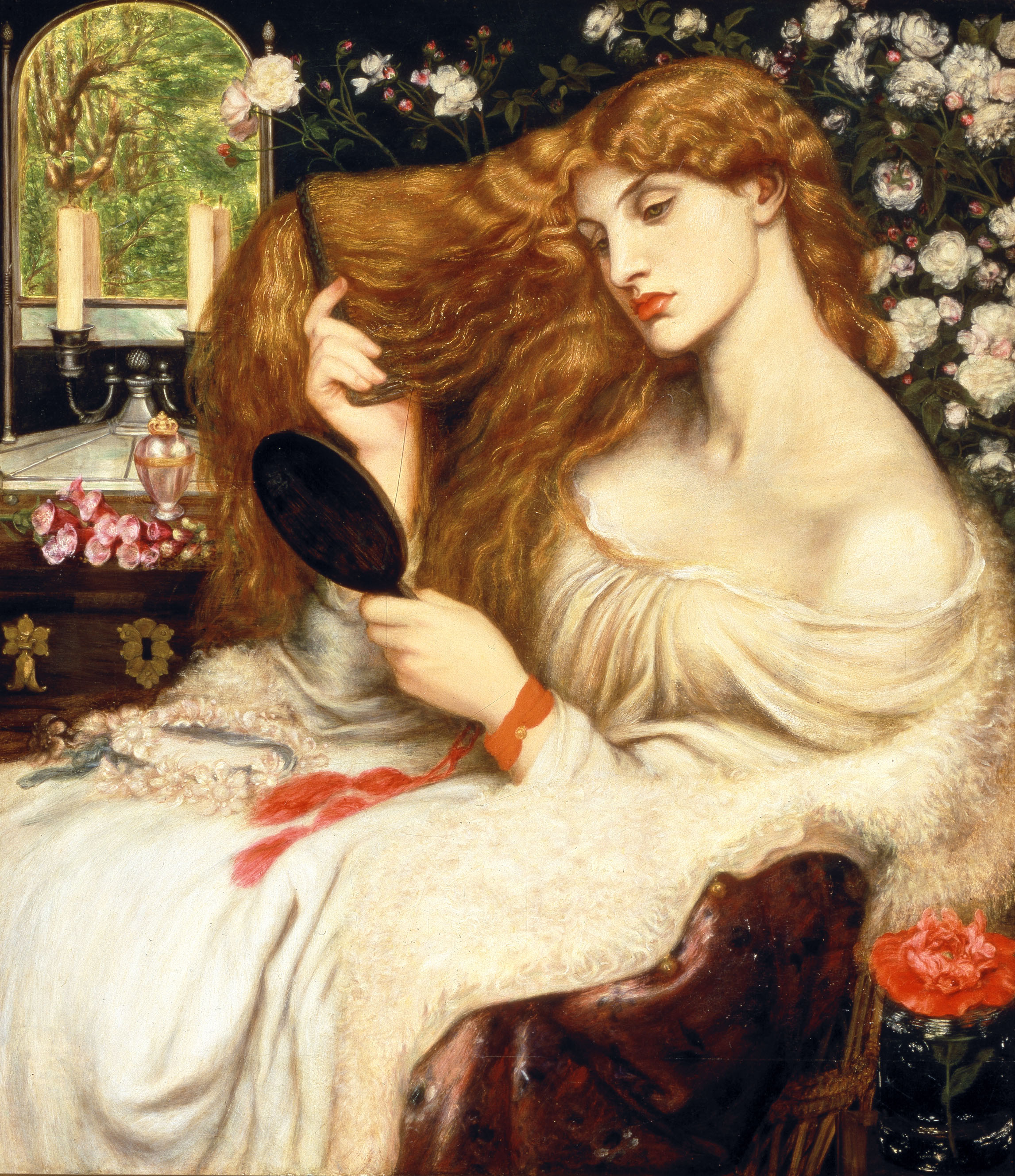 Rossetti, Lady Lilith, 1866.