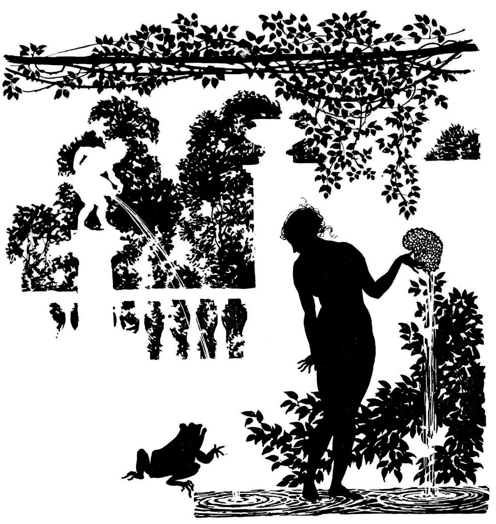 Arthur Rackham, Illustration for Sleeping Beauty, 1920.