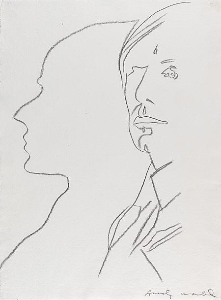 Andy Warhol, The Shadow, 1981.