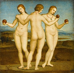 Raphael, The Three Graces, 1505