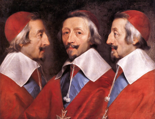 Phillipe de Champagne, Triple Portrait of Cardinal de Richelieu, 1642.