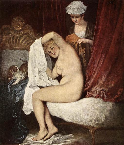 Antoine Watteau, The Toilette, 1717.