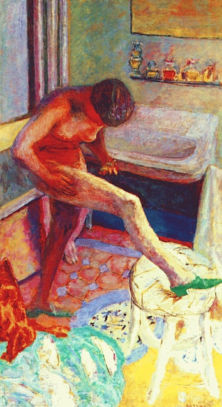 Pierre Bonnard, The Green Slipper, 1927.