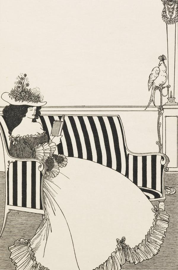 Aubrey Beardsley, A second book of fifty drawings', 1899
